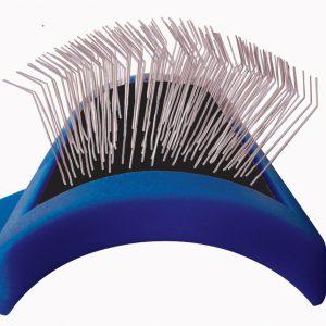 Show Tech Tuffer Than Tangles Slicker Brush – Long firm pins medium