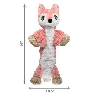 Kong – Low Stuff Flopzie Fox hundleksak